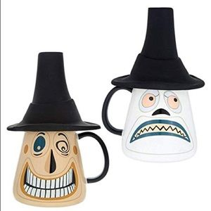 new! disney nightmare before christmas mayor mug